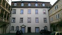 Hofseite Ostflügel / Schloss Pfedelbach in 74629 Pfedelbach (27.02.2014 - Lena Becker (München))