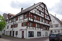 Nordwestansicht, Ansicht Schrannengasse / Wohn- und Geschäftshaus in 88400 Biberach, Biberach an der Riß (24.06.2018 - Christin Aghegian-Rampf)
