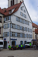 Marktplatz 7, Südwestansicht  / Fachwerkbau in 88400 Biberach, Biberach an der Riß (Christin Aghegian-Rampf)