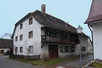 Östliche Traufseite / Kellhof in 88697 Bermartingen, Bermatingen (11.03.2013 - A. Kuch)