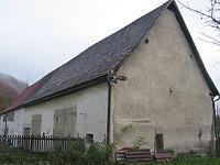 Ansicht der ehem. Zehntscheune von Nordwesten / ehem. Zehntscheune in 73252 Lenningen, Oberlenningen