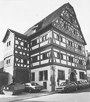 Ansicht gegen SW (um 1970/80) / Hornmoldhaus in 74321 Bietigheim-Bissingen (Bildindex Foto Marburg: LAD BW/Stuttgart, Microfiche-Scan mi04938g13)
