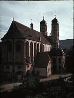 Ansicht von NO (1943/45) / Münster St. Fridolin in 79713 Bad Säckingen (Foto Marburg: Aufnahme-Nr. LAC 9.034/23; Bilddatei fmlac9034_23)