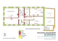 Bauphasenplan / Kath. Gemeindehaus in 79336 Herbolzheim (31.03.2014 - Stefan King)