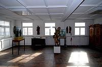 """1. OG, südöstl. Eckraum mit Täferdecke / Heimatmuseum, ehem. """"Alte Post"""" in 88512 Mengen (26.10.2011 - A. Kuch)"""
