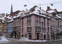Wohnhaus, Kameleck in 78628 Rottweil (http://rottweil.net/frame/Ansichten/Innenstadt/ObereHauptstrasse/Hauptstrasse_41/Januar2005/Hauptstrasse_41_30.01.2005_01.jpg, letzter Zugriff am 6.11.2014)