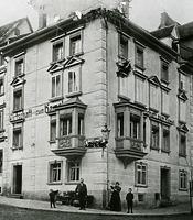 Wohnhaus, Kameleck in 78628 Rottweil (http://rottweil.net/frame/Ansichten/Innenstadt/ObereHauptstrasse/Hauptstrasse_41/Um1900/frame.php, letzter Zugriff am 6.11.2014)