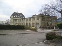 Halle 1 und Verwaltungsgebäude Schneckenburger Straße. / Industriedenkmal Rieterwerke in 78467 Konstanz (17.03.2007 - winterfuchs März 2007)