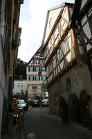 Judengasse 1 in Tübingen / Fachwerkhaus Judengasse 1 in 72070 Tübingen (14.08.2012 - winterfuchs)