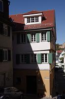 Südostansicht / Fachwerkhaus Judengasse 1 in 72070 Tübingen (21.09.2019 - Christin Aghegian-Rampf)